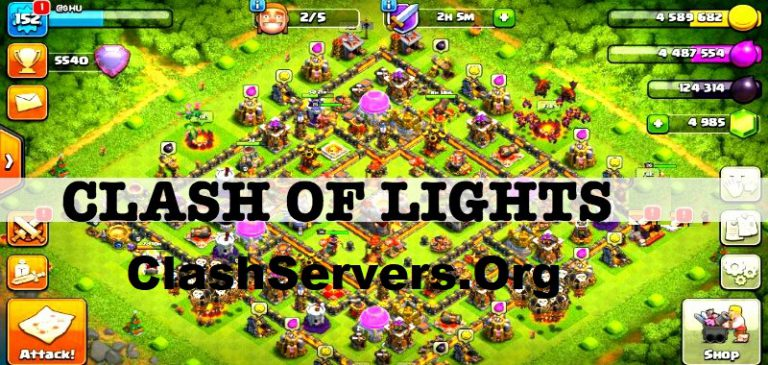 Clash of Lights Servers (S1, S2, S3, S4, S10) Latest APK Download {2019 Updated}